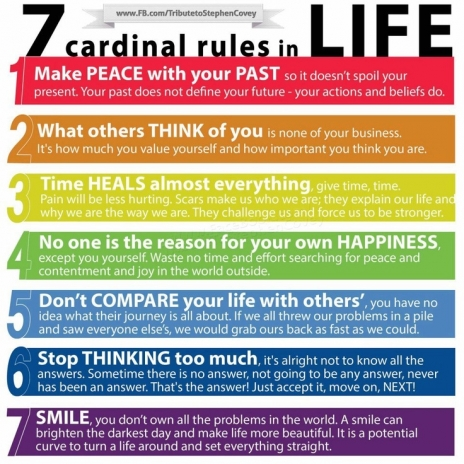 7 Rules of Life » Strive 2 Survive | Brown Clinic